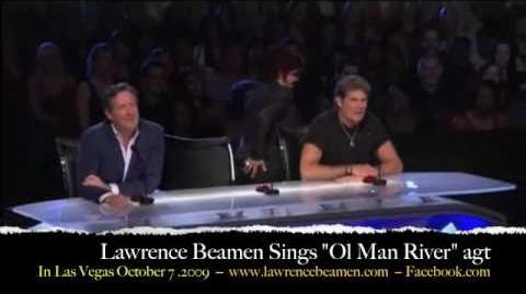 "Lawrence Beamen - America's Got Talent Top 5 Finalist Performs ""OLE' MAN RIVER"""