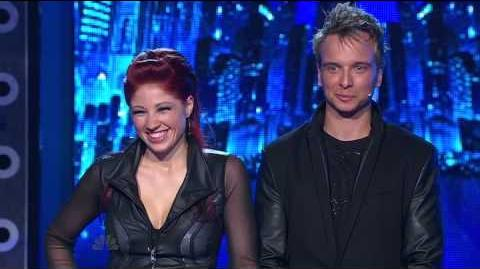 Illusionist Leon Etienne and Romy Low - America's Got Talent 2013 Season 8 - Radio City Music Hall