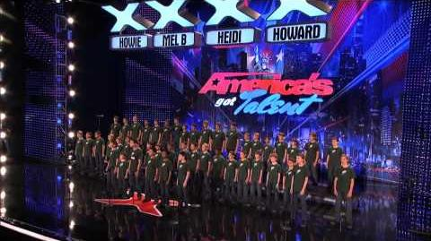 The Pacific Boys Choir Give the Judges Chills America's Got Talent