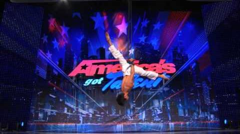 Tristan Jih Flies High With His Areal Strap Performance America's Got Talent