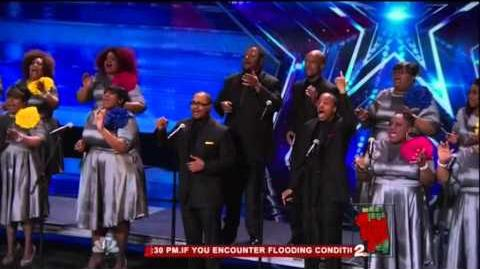 America's Got Talent 2015 Selected of God Choir Auditions 7