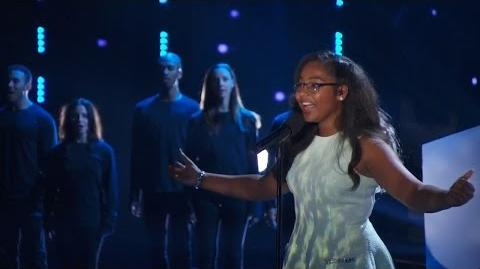 America's Got Talent 2015 S10E17 Live Shows - Arielle Baril Teen Opera Singer