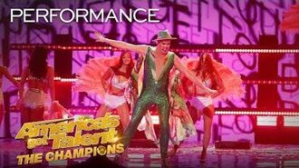 "Hans Performs The ICONIC ""Let's Get Loud"" By Jennifer Lopez - America's Got Talent The Champions"