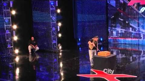 America's Got Talent 2013 Week 1 Auditions - David 'The Cobra Kid' Weathers