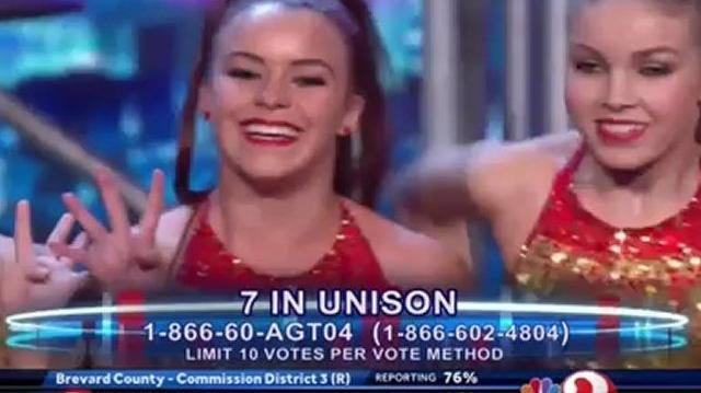 7 In Unison, YouTube Show ~ America's Got Talent 2012-0