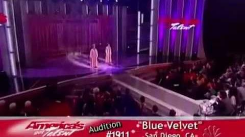 "Blue Velvet Fail (""America's Got Talent"")"
