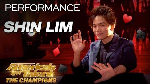 Shin Lim Leaves You Speechless With Magic Card Tricks - America's Got Talent The Champions