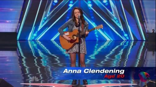Anna Clendening ~ America's Got Talent, 2014 Auditions