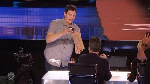 America's Got Talent 2016 Steven Brundage Seen Rubik's Cube Magic? Not Like This Full Audition Clip