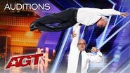 WOW! 84 and 54 Year Old Hand Balancing Best Friends Edson & Leon! - America's Got Talent 2019
