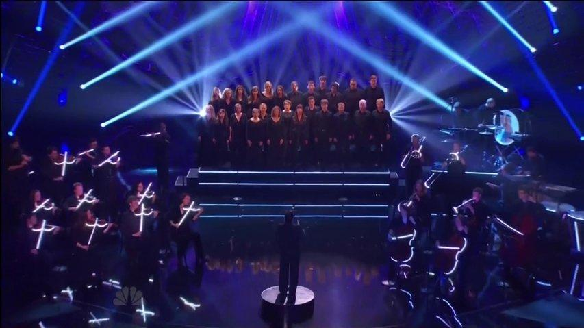 3Penny Chorus and Orchestra, Top 60 performs ~ AGT 2013