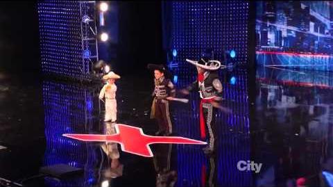Mestizo Ballet Folklorico - America's Got Talent 2013 Season 8 Auditions