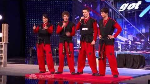 Team Rock Tae Kwon Do - America's Got Talent 2013 Season 8 Week 3 Auditions