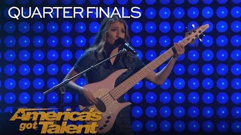 "We Three Family Band Performs Powerful Original ""So They Say"" - America's Got Talent 2018"