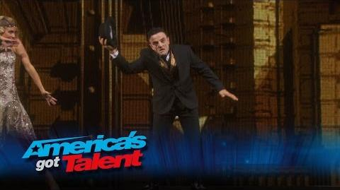 Uzeyer Novruzov & Freelusion Mind-Blowing Acts Perform Together - America's Got Talent 2015 Finale