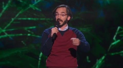 America's Got Talent 2015 S10E17 Live Shows - Myq Kaplan Stand-up Comedian