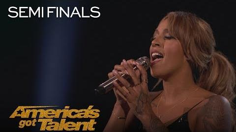 """Glennis Grace Singer Performs Powerful """"This Woman's Work"""" - America's Got Talent 2018"""