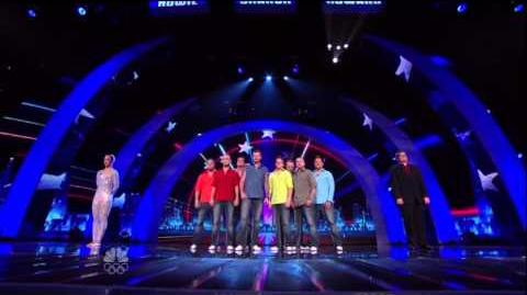 3. 4th Quarterfinal Results ~ America's Got Talent 2012