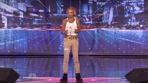America's Got Talent 2013 Season 8 Week 2 Auditions - JC Starbright