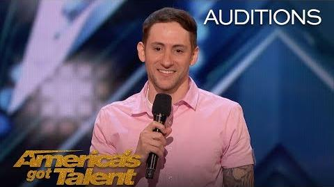Samuel J. Comroe Comedian With Tourette Syndrome Impresses Crowd - America's Got Talent 2018