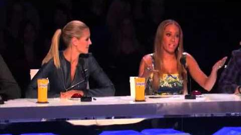 America's Got Talent 2013 Audition - Pat McKillen Acoustic Song Hits Wrong Note new