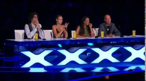 America's Got Talent 2014 Aerial Animation Semi-Final 1