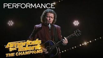 "Michael Grimm Returns With ""I'd Rather Go Blind"" by Etta James - America's Got Talent The Champions"