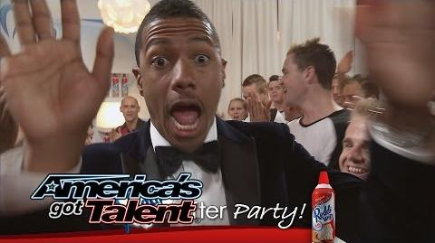 Reddi-Wip After Party Miguel Gets Into It, Mara's Super Powers and More - America's Got Talent 2014