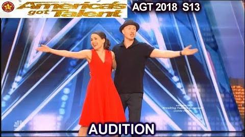 Rudi Rok and Saari Ventriloquist Duo They Exchanged Voices America's Got Talent 2018 Audition