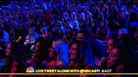 America's Got Talent 2015 Shirley Claire Judges Cuts Week 2