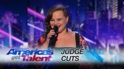 "Yoli Mayor Miami Singer Kills ""Love On The Brain"" - America's Got Talent 2017"