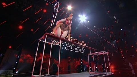 America's Got Talent 2016 Vello Vaher The Crazy Contortionist Swami Full Judge Cuts Clip S11E09
