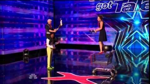America's Got Talent 2014 Kamikase Fireflies Auditions 3