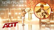 "EPIC Guitarist Marcin Patrzalek Puts Unbelievable Spin On ""Shape Of You"" - America's Got Talent 2019"