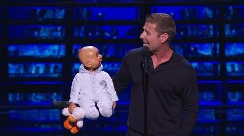 America's Got Talent 2015 S10E10 Judge Cuts - Paul Zerdin Ventriloquist