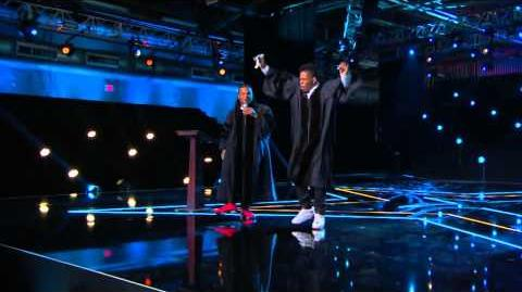 America's Got Talent S09E09 Semi-Final Variety Acts Emmanuel and Phillip Hudson