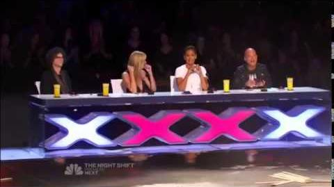 America's Got Talent 2014 Dustin's Dojo Howards Golden Buzzer Auditions 1