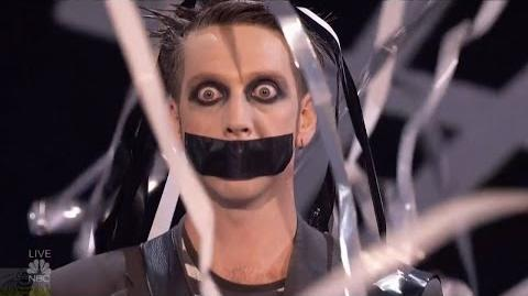 America's Got Talent 2016 Semi-Finals Tape Face S11E18