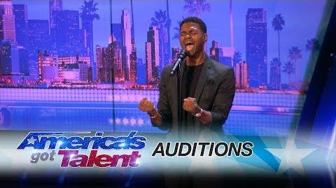 """Johnny Manuel Guy Covers Whitney Houston's """"I Have Nothing"""" - America's Got Talent 2017"""