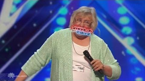 Americas Got Talent 2016 Julia Scotti Geriatric Comic w A Surprise Full Audition Clip TonyPatrony