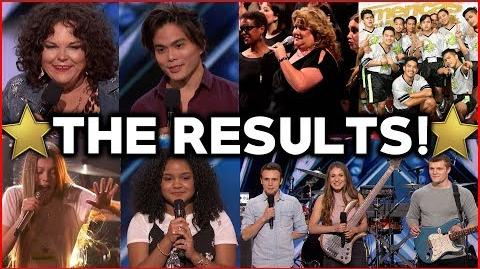 AGT Results and Next Weeks Predictions!