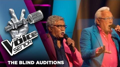 Mick en Henk – Dancing In The Street The Voice Senior 2018 The Blind Auditions