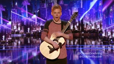 America's Got Talent 2017 Chase Goehring Judges' Comments Judge Cuts S12E09