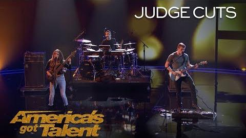 """We Three Sibling Band Perform Touching Original Called """"Lifeline"""" - America's Got Talent 2018"""
