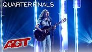 "Sophie Pecora Performs An Amazing Original Song, ""Happy in LA"" - America's Got Talent 2019"