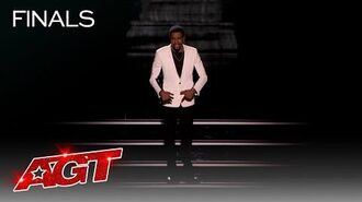 Brandon Leake Performs a Moving Spoken Word Piece About AGT - America's Got Talent 2020