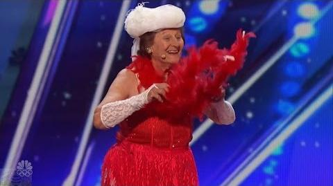 America's Got Talent 2016 Dorothy Williams 90 YO Riotous Must See Last Audition Full Audition Cli