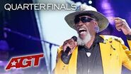 "65-Year-Old Veteran Robert Finley STUNS With Soulful ""Starting to See"" - America's Got Talent 2019"