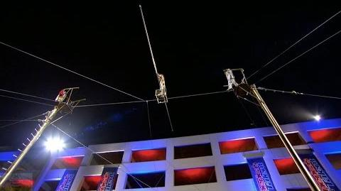 America's Got Talent 2017 Duo Guerrero Deadly High Wire Act Full Judge Cuts Clip S11E08