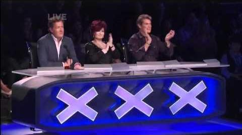"""Ishaara in the Semifinals of NBC's """"America's Got Talent!"""""""